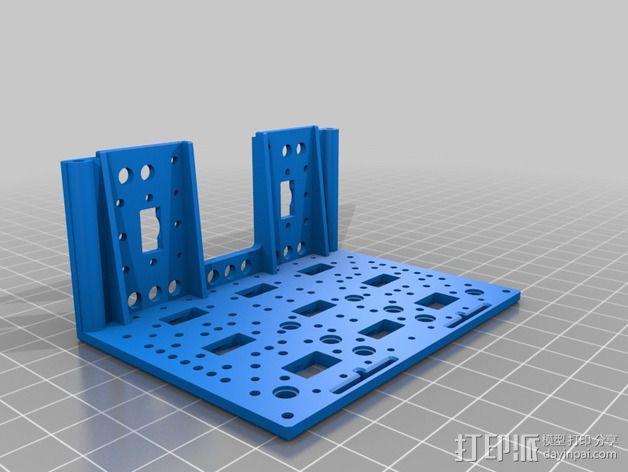 Bioloid机器人 3D模型  图10