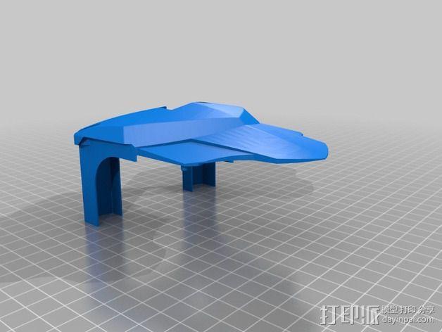 Bioloid机器人 3D模型  图12