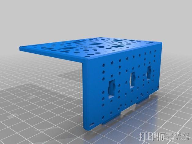 Bioloid机器人 3D模型  图13