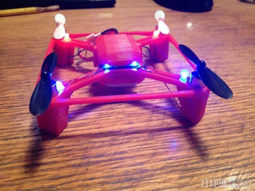 航拍多轴飞行器 3D模型  图1