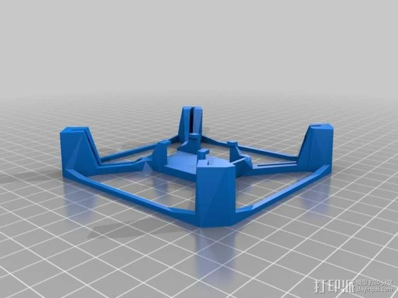 航拍多轴飞行器 3D模型  图4