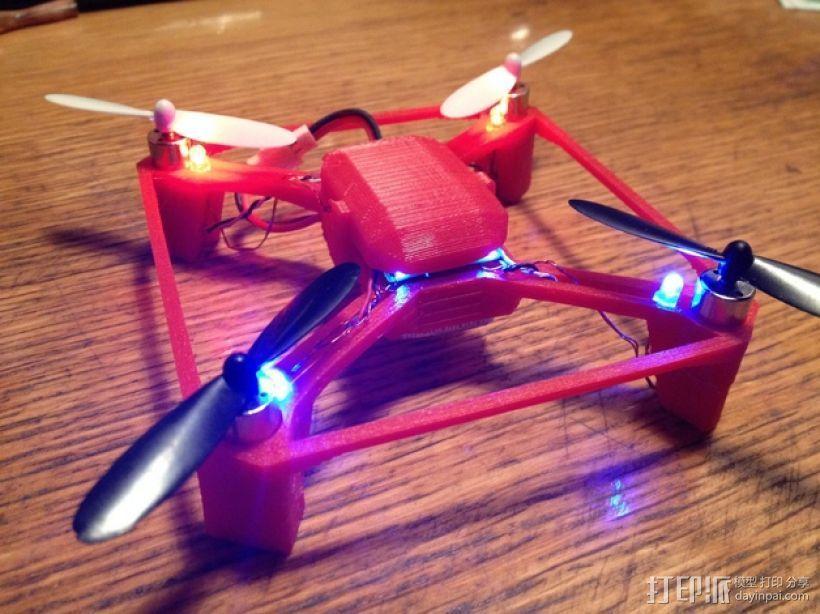 航拍多轴飞行器 3D模型  图5