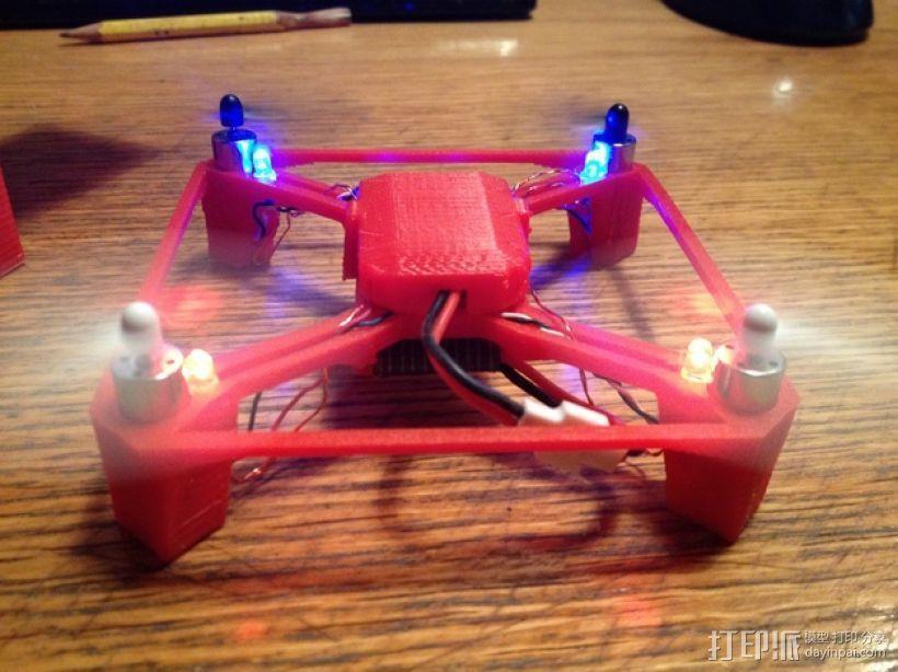 航拍多轴飞行器 3D模型  图6