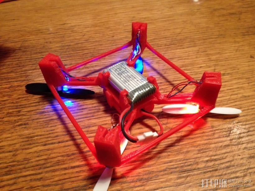 航拍多轴飞行器 3D模型  图7
