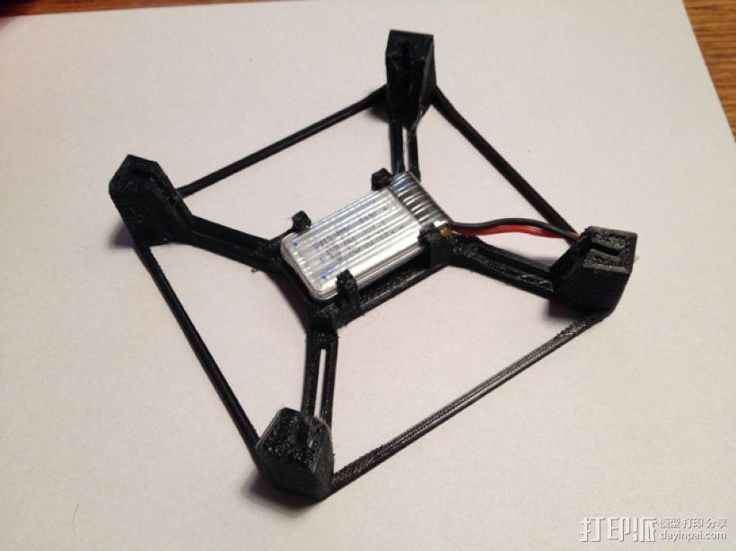 航拍多轴飞行器 3D模型  图9