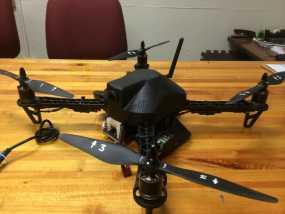 DJI F450四轴飞行器 防水上盖和顶板  3D模型