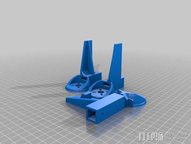 三轴飞行器 3D模型  图22