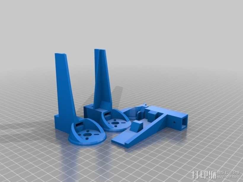 三轴飞行器 3D模型  图23