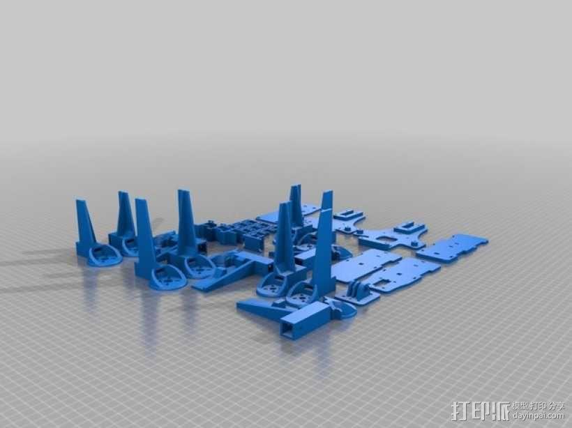 三轴飞行器 3D模型  图25