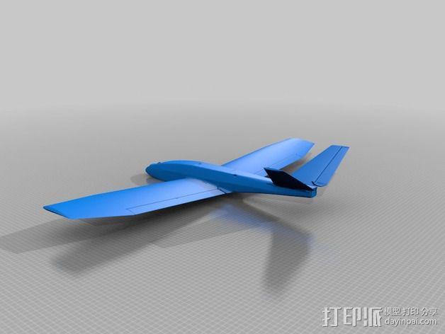 FPV/UAV飞机 3D模型  图2