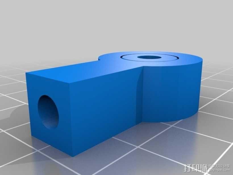 杆端轴承 3D模型  图2