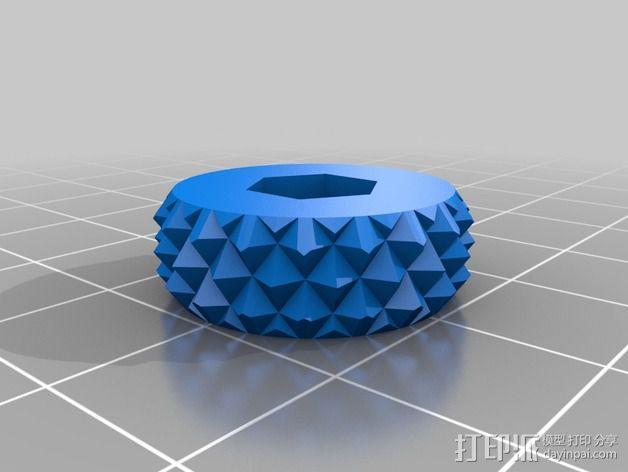 SMA微调器 3D模型  图6
