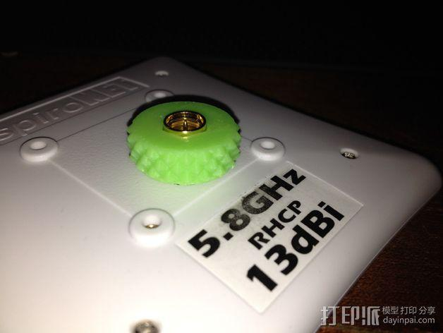 SMA微调器 3D模型  图5