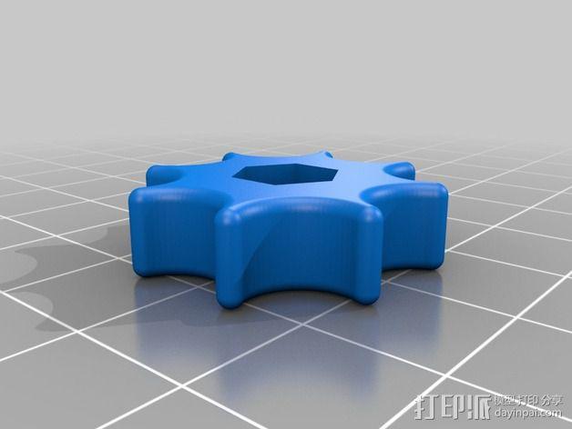 SMA微调器 3D模型  图8