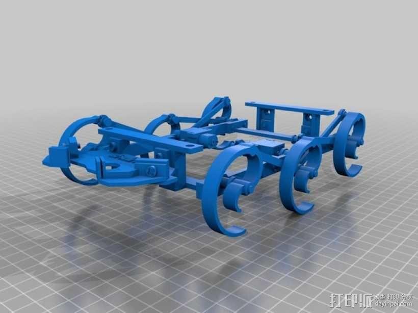 RepWalker马达模组  3D模型  图3