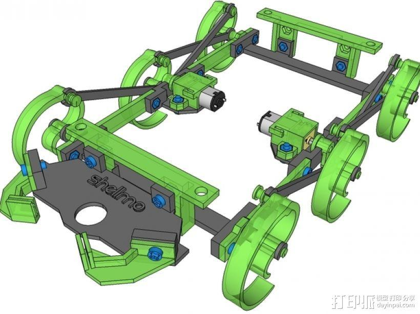 RepWalker马达模组  3D模型  图8