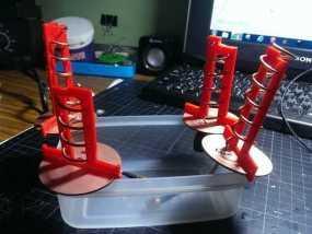 FPV螺旋形天线 3D模型