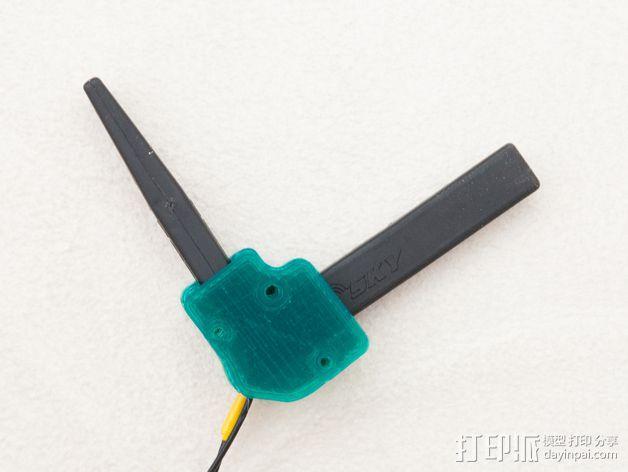 FrSky X8R/X6R接收机天线支架 3D模型  图6