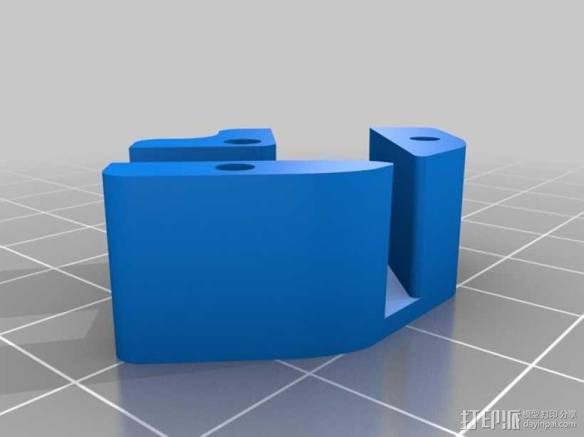 FrSky X8R/X6R接收机天线支架 3D模型  图9