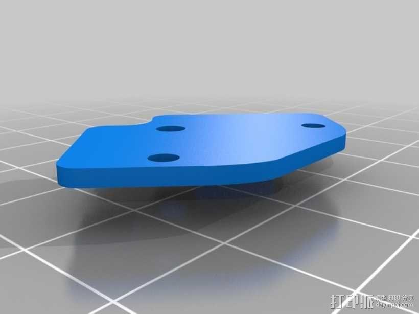 FrSky X8R/X6R接收机天线支架 3D模型  图10