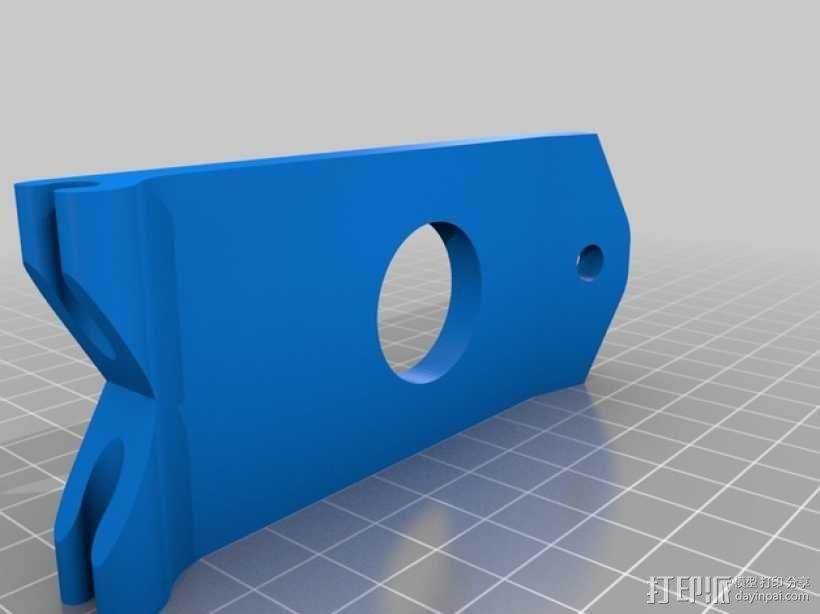 FPV显示器支架 3D模型  图2