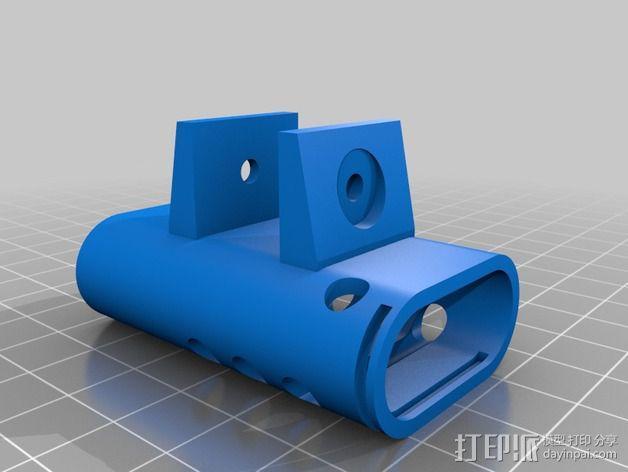 FPV 发送器支架 3D模型  图2