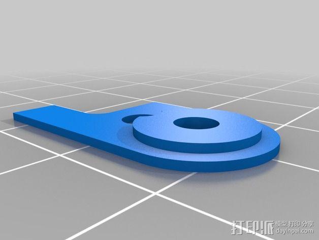 FPV 发送器支架 3D模型  图3