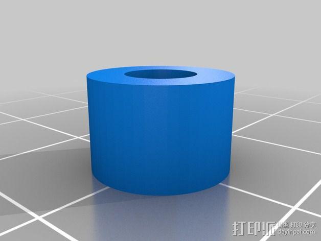 蜗轮减速器  3D模型  图2