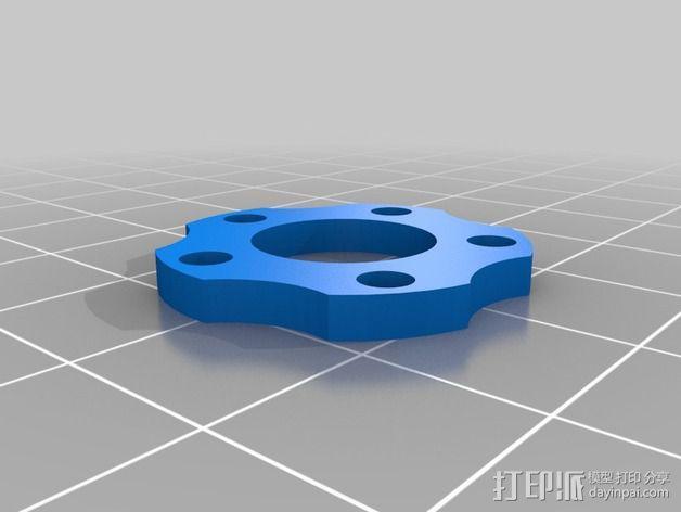 蜗轮减速器  3D模型  图5
