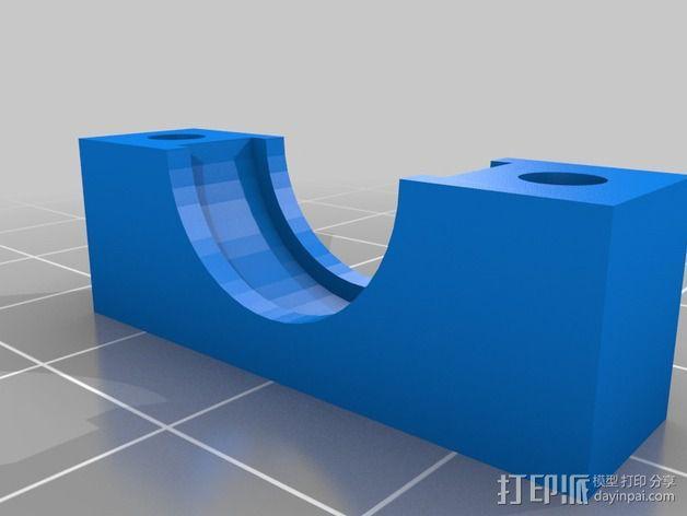 蜗轮减速器  3D模型  图7