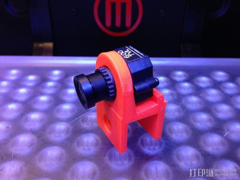 FPV摄像机底座 3D模型  图1