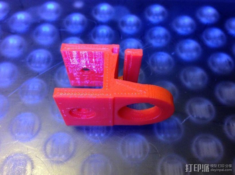 FPV摄像机底座 3D模型  图2