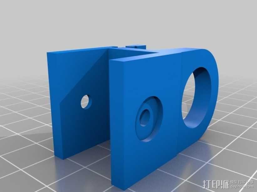 FPV摄像机底座 3D模型  图3