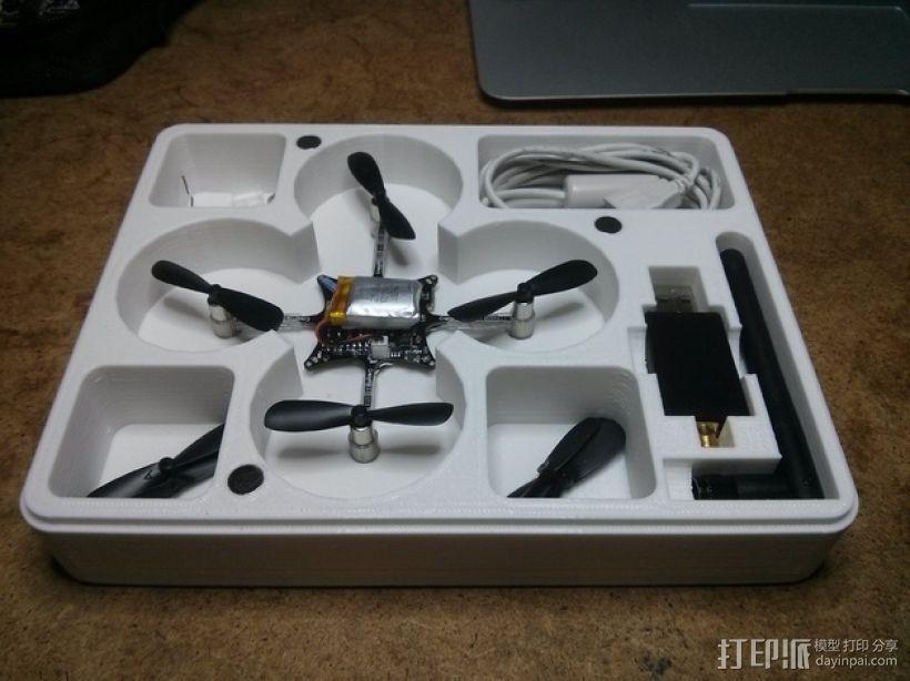 CrazyFlie nano四轴飞行器 输送容器 3D模型  图1