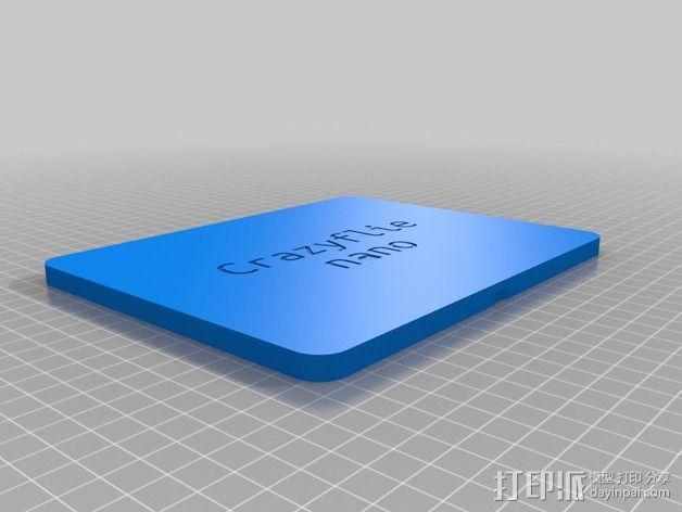 CrazyFlie nano四轴飞行器 输送容器 3D模型  图6