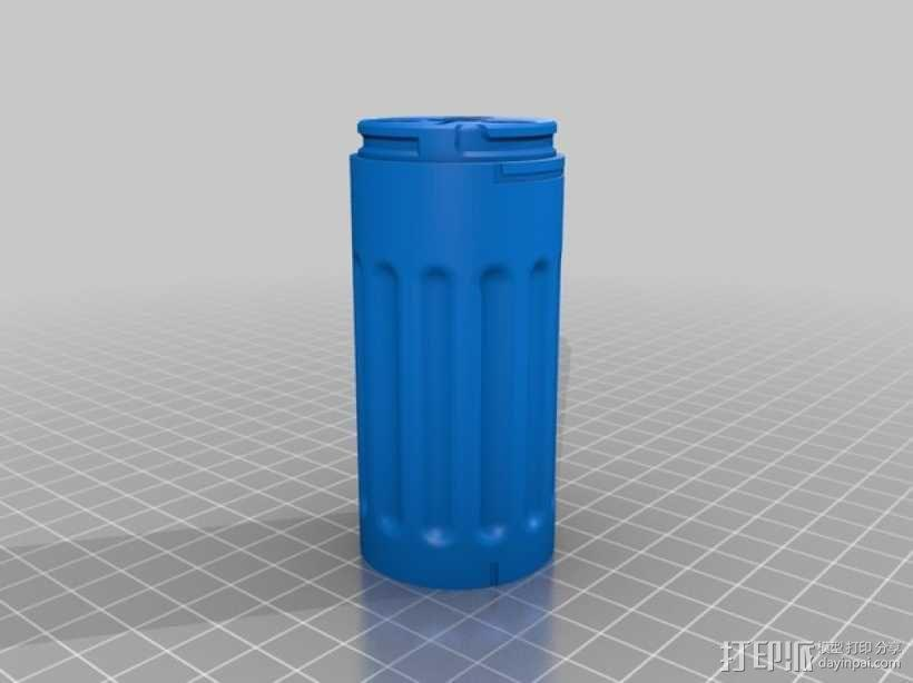 弓箭配件箱 3D模型  图4