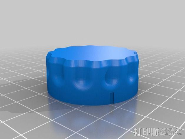 弓箭配件箱 3D模型  图6