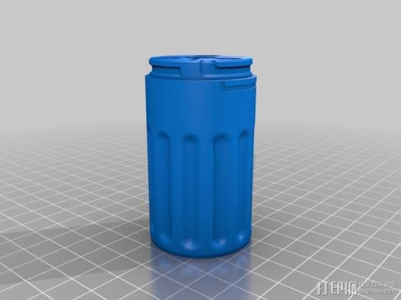 弓箭配件箱 3D模型  图5