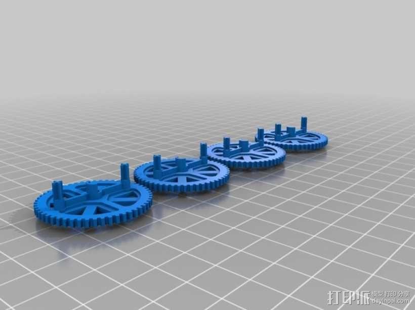 无人机零部件 3D模型  图5