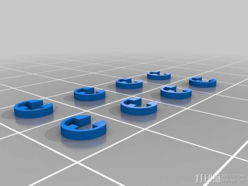 无人机零部件 3D模型  图6