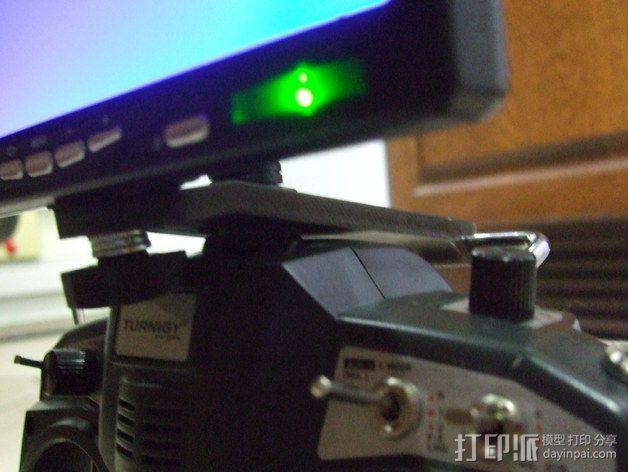 Tx FPV监控支架 3D模型  图6