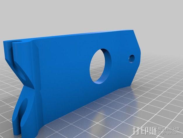 Tx FPV监控支架 3D模型  图7