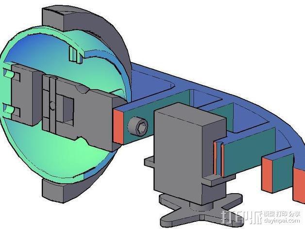 机械电子眼 3D模型  图3