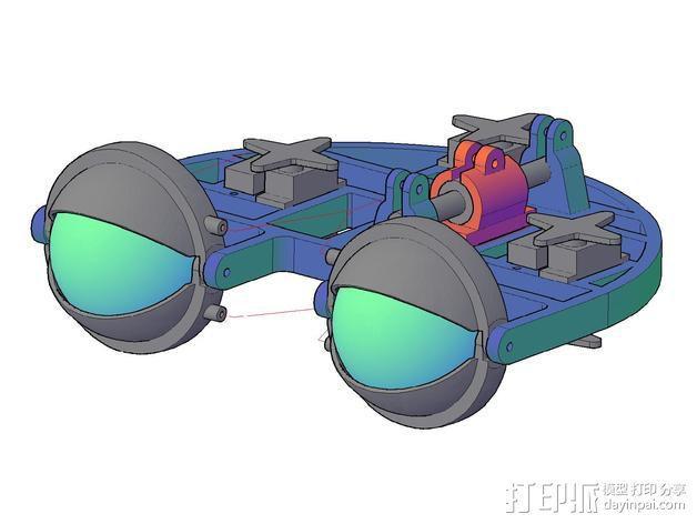 机械电子眼 3D模型  图4