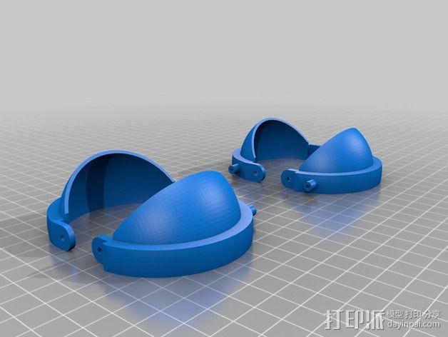 机械电子眼 3D模型  图7
