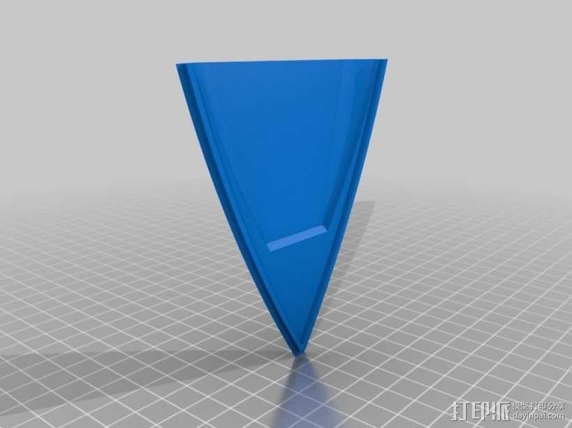 遥控船  3D模型  图3