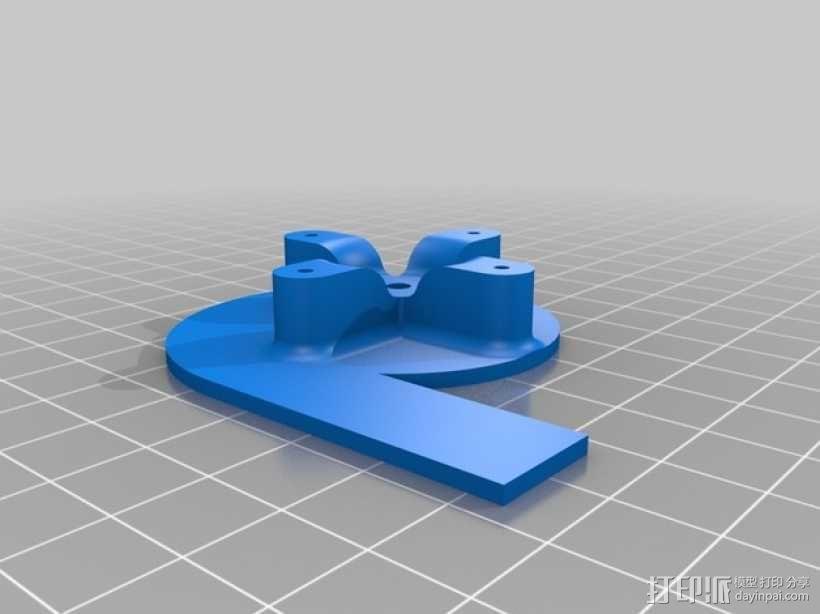 遥控船  3D模型  图4