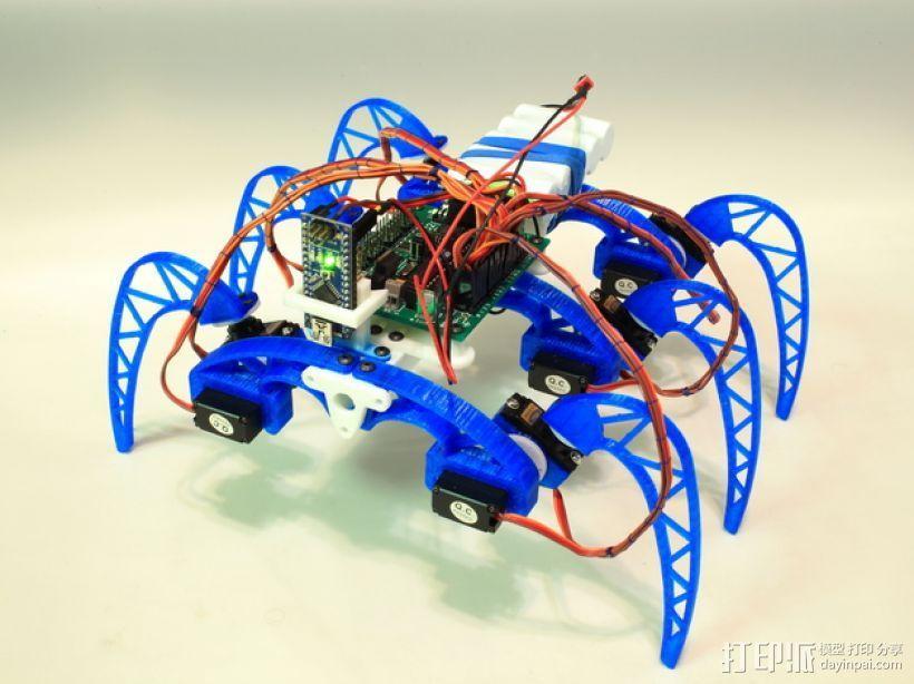 模块化仿昆虫机器人 3D模型  图2