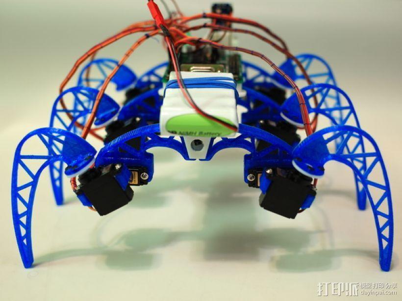 模块化仿昆虫机器人 3D模型  图3