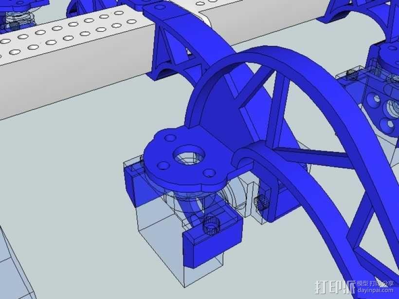 模块化仿昆虫机器人 3D模型  图9